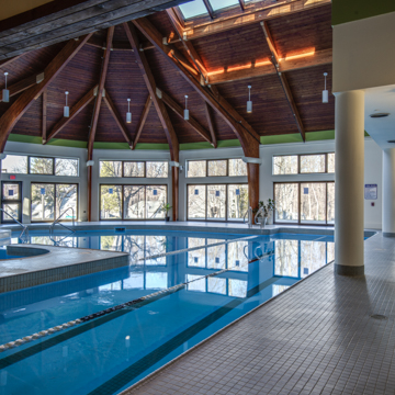 spa at the woods pool