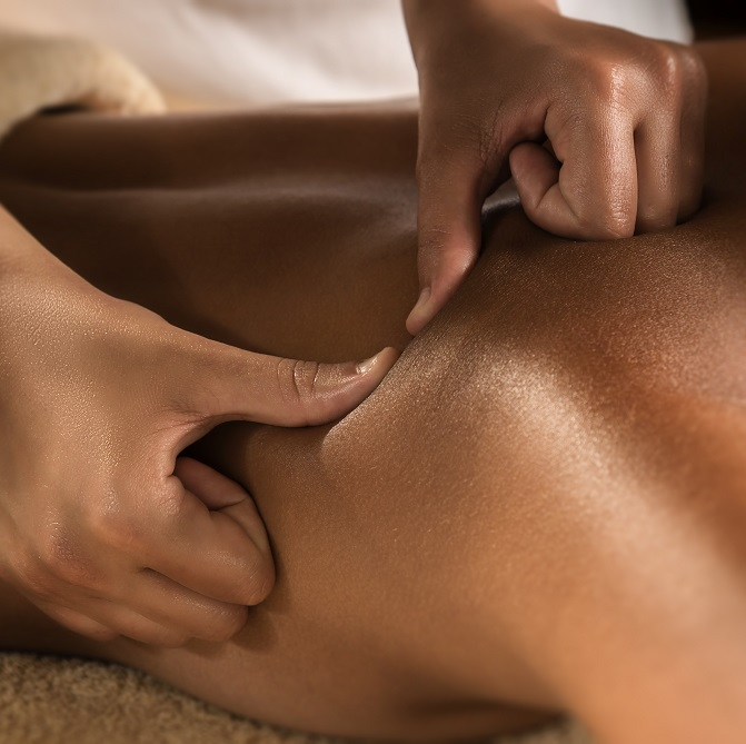 Deep tissue spa at the woods