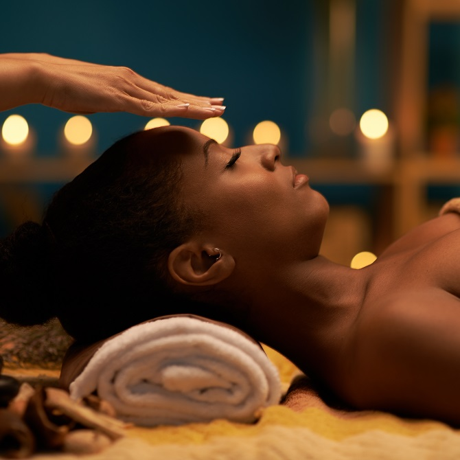 reiki at spa at the woods